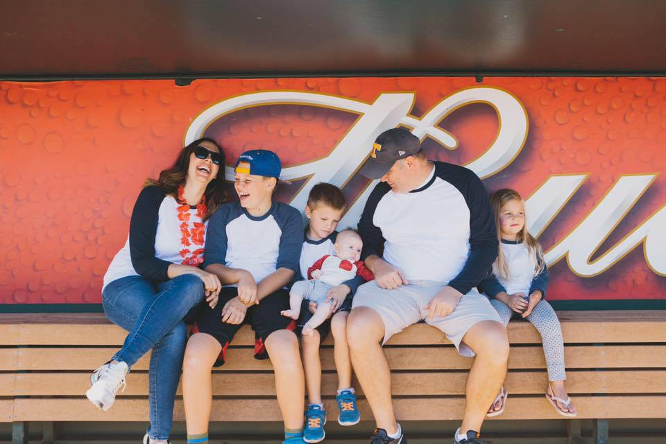 family at heart walk